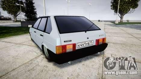 VAZ-2109 hobo for GTA 4 back left view