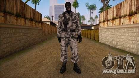 Artic from Counter Strike Condition Zero for GTA San Andreas