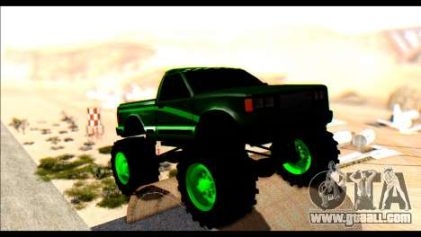 City Destroyer v2 for GTA San Andreas left view