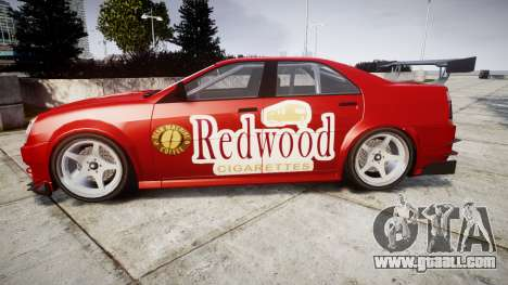 Albany Presidente Racer [retexture] Redwood for GTA 4 left view