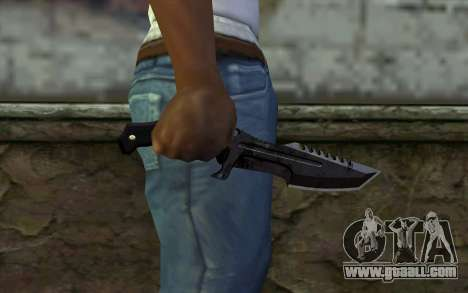 Knife from COD: Ghosts v2 for GTA San Andreas third screenshot