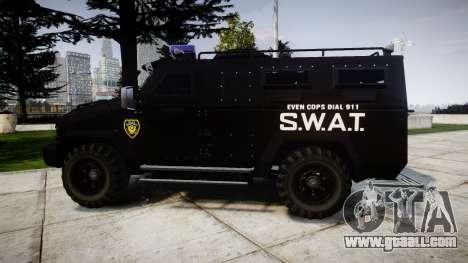 SWAT Van [ELS] for GTA 4 left view