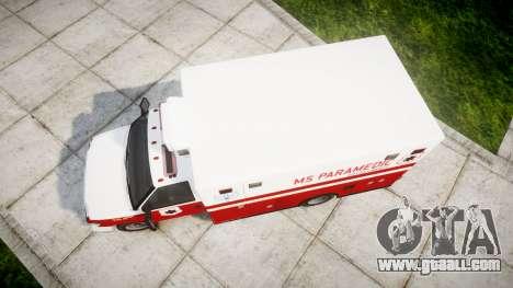 Brute V-240 Ambulance [ELS] for GTA 4 right view