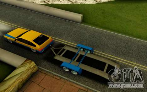 Trailer for GTA San Andreas back left view