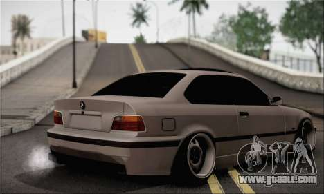 BMW M3 E36 Bosnia Stance for GTA San Andreas left view