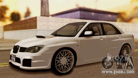 Subaru Impreza for GTA San Andreas