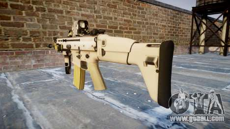 Machine FN SCAR-L Mk 16 icon2 for GTA 4 second screenshot