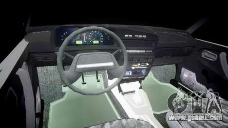 VAZ-2109 hobo for GTA 4 back view