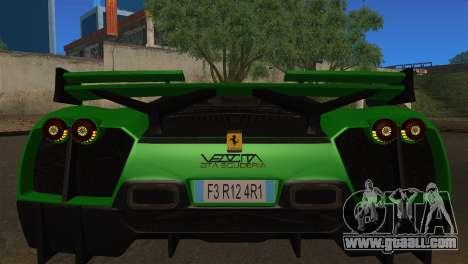 Ferrari Velocita 2013 for GTA San Andreas right view