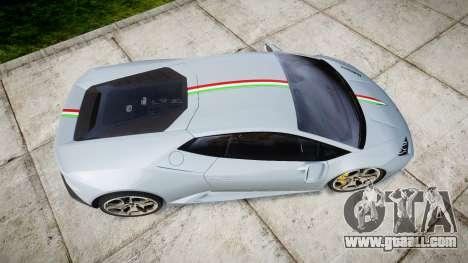 Lamborghini Huracan LP 610-4 2015 for GTA 4 right view