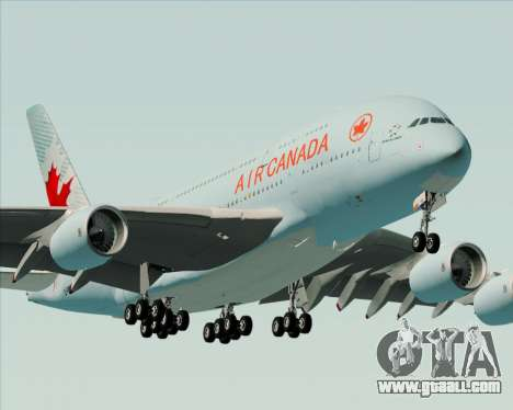 Airbus A380-800 Air Canada for GTA San Andreas engine