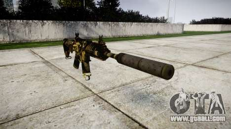 Machine P416 silencer PJ2 for GTA 4