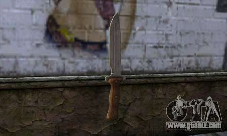Daryl Knife from The Walking Dead for GTA San Andreas