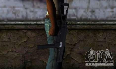UMP45 v1 for GTA San Andreas third screenshot