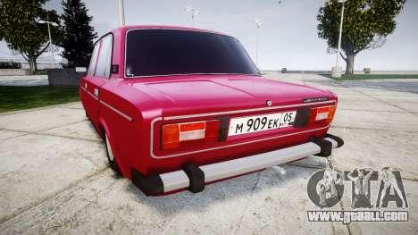 VAZ-21067 for GTA 4 back left view