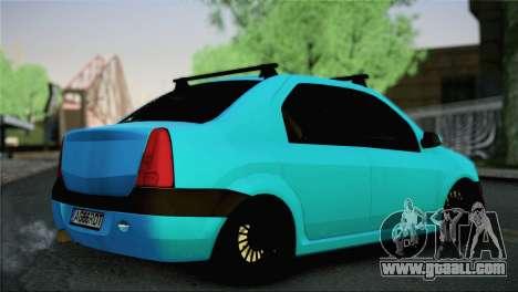 Dacia Logan Simply Clean for GTA San Andreas left view