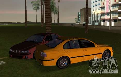 BMW M5 E39 for GTA Vice City back left view