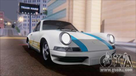 Porsche 911 Carrera 1973 Tunable KIT A for GTA San Andreas back view