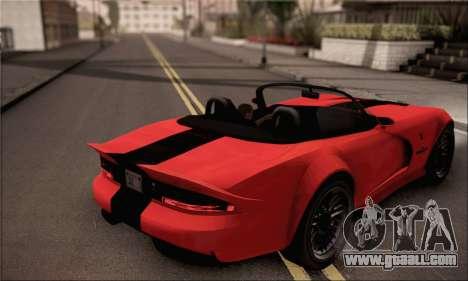GTA 5 Bravado Banshee for GTA San Andreas left view