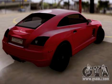 GTA 5 Fusilade for GTA San Andreas left view