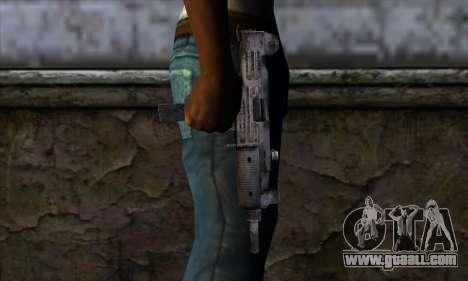 Uzi из Call of Duty Black Ops for GTA San Andreas third screenshot