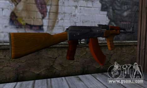 Romanian AKM for GTA San Andreas second screenshot