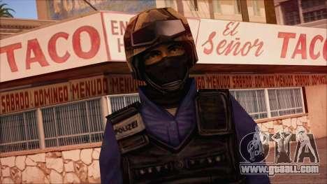 GSG9 from Counter Strike Condition Zero for GTA San Andreas third screenshot