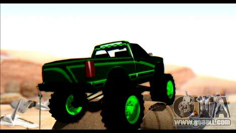 City Destroyer v2 for GTA San Andreas back left view