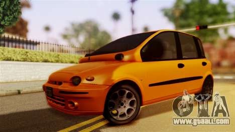 Fiat Multipla Normal Bumpers for GTA San Andreas