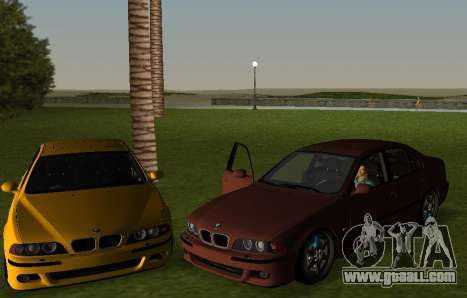 BMW M5 E39 for GTA Vice City left view
