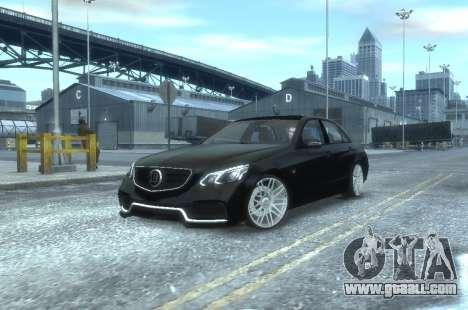 Mercedes-Benz E63 BRABUS 850 for GTA 4 left view
