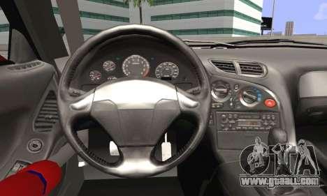 Mazda RX-7 Fail Crew for GTA San Andreas back left view