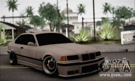 BMW M3 E36 Bosnia Stance for GTA San Andreas