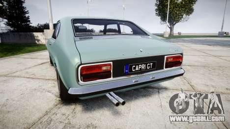 Ford Capri GT Mk1 for GTA 4 back left view