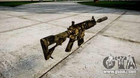 Machine P416 silencer PJ2 for GTA 4 second screenshot