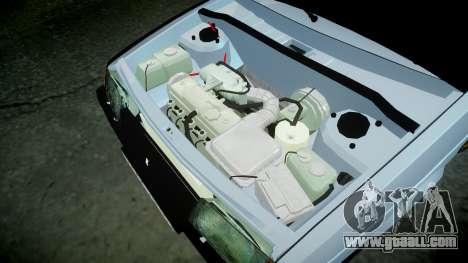 VAZ-2109 hobo for GTA 4 inner view
