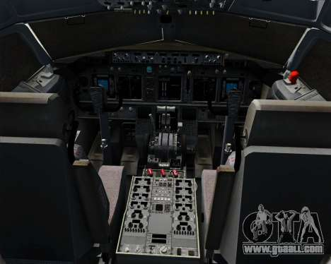 Boeing 737-800 Southwest Airlines for GTA San Andreas interior