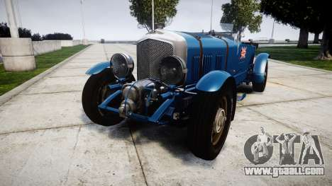 Bentley Blower 4.5 Litre Supercharged [high] for GTA 4