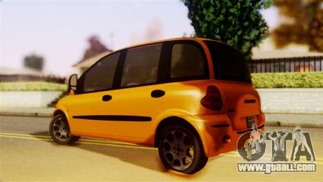 Fiat Multipla Normal Bumpers for GTA San Andreas left view