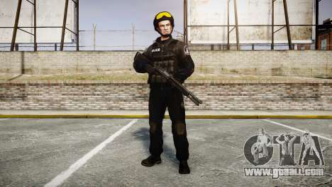 Uniforms assault groups with special. weapons for GTA 4