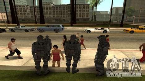 Skin Third Echelon for GTA San Andreas third screenshot