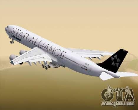 Airbus A340-300 Lufthansa (Star Alliance Livery) for GTA San Andreas