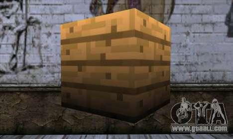 Block (Minecraft) v11 for GTA San Andreas second screenshot