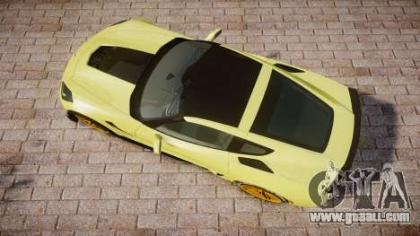 Chevrolet Corvette Z06 2015 TireGY for GTA 4 right view