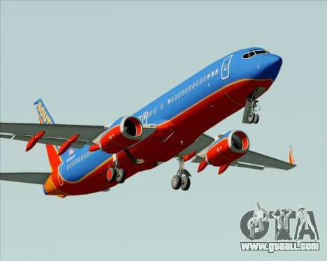 Boeing 737-800 Southwest Airlines for GTA San Andreas engine