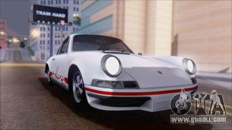 Porsche 911 Carrera 1973 Tunable KIT A for GTA San Andreas right view