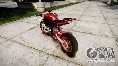 Yamaha YZF-R6 Stunt for GTA 4 back left view