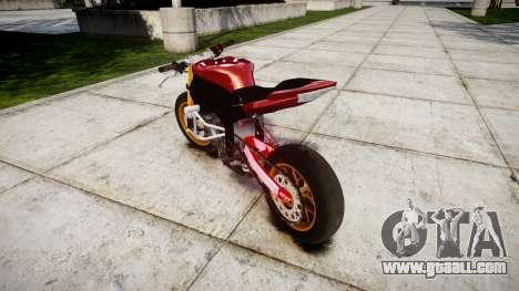 Yamaha YZF-R6 Stunt for GTA 4 back left view