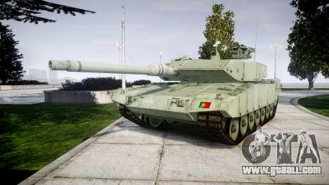 Leopard 2A7 PT Green for GTA 4