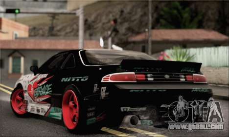 Nissan Silvia S14 Zenki Matt Powers for GTA San Andreas left view